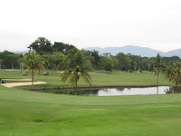 view of the golf course at KHGC