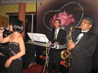 Jazz Band performing LIVE at the dinner event
