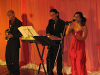 Jazz Band and Singer performing LIVE at the wedding