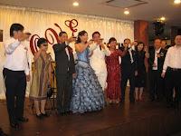 The toasting ceremony