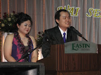 speech by the groom Wai Sen