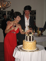 The 50th Birthday celebrants Bob and Ruby