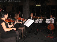 The String Quartet performance
