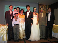 Bridal couple with their parents