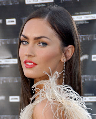 megan fox makeup looks. megan fox without makeup ugly.