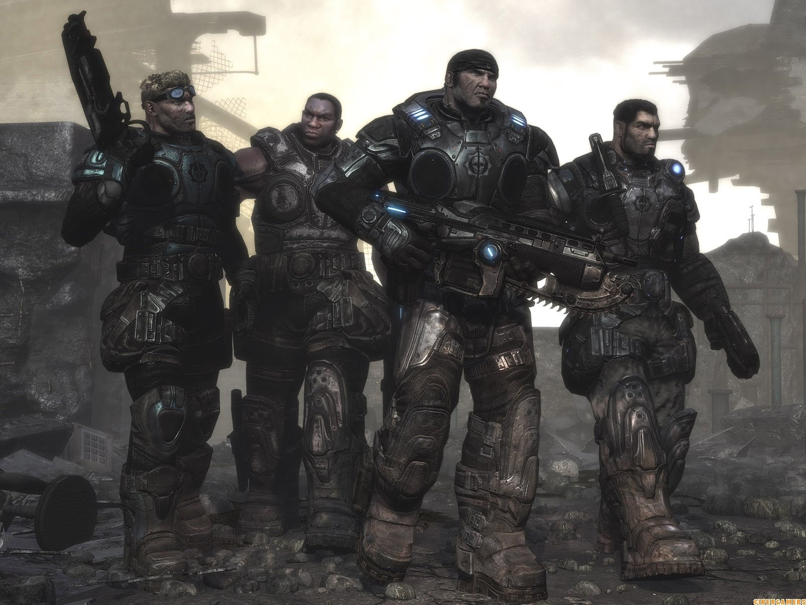 Gears of War HD & Widescreen Wallpaper 0.682306794158571