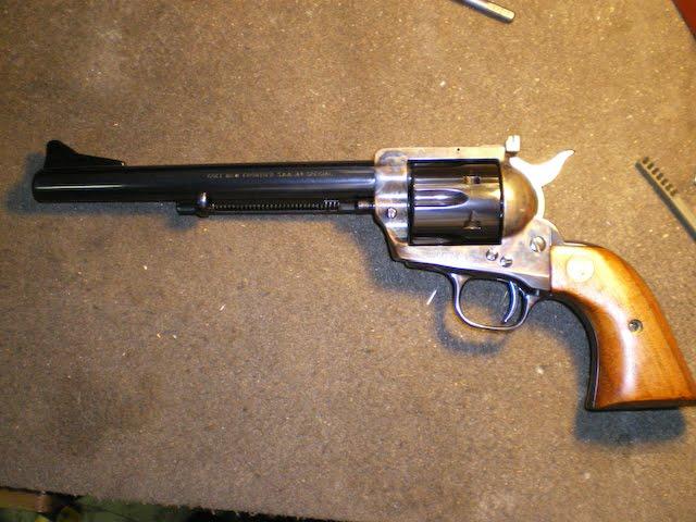 the colt revolver