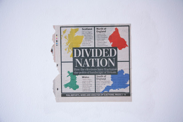 Divided Nation, 2008, Newspaper clipping
