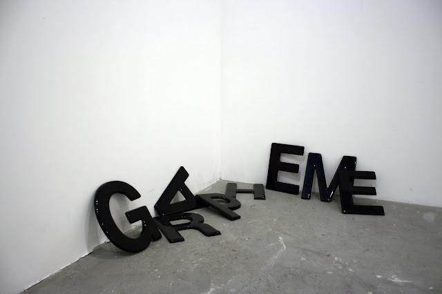 GRAPHEME, 2008, Moulded Acrylic Plastic
