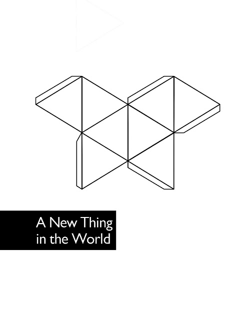 A New Thing in the World, 2008 commission poster edition, Designed by Thom O'Nions