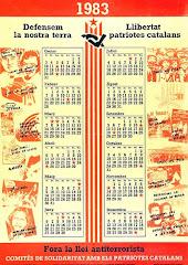 Calendari dels CSPC de 1983