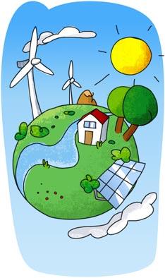 Bio renovable concepto y generalidades de energ as - Fotos energias renovables ...