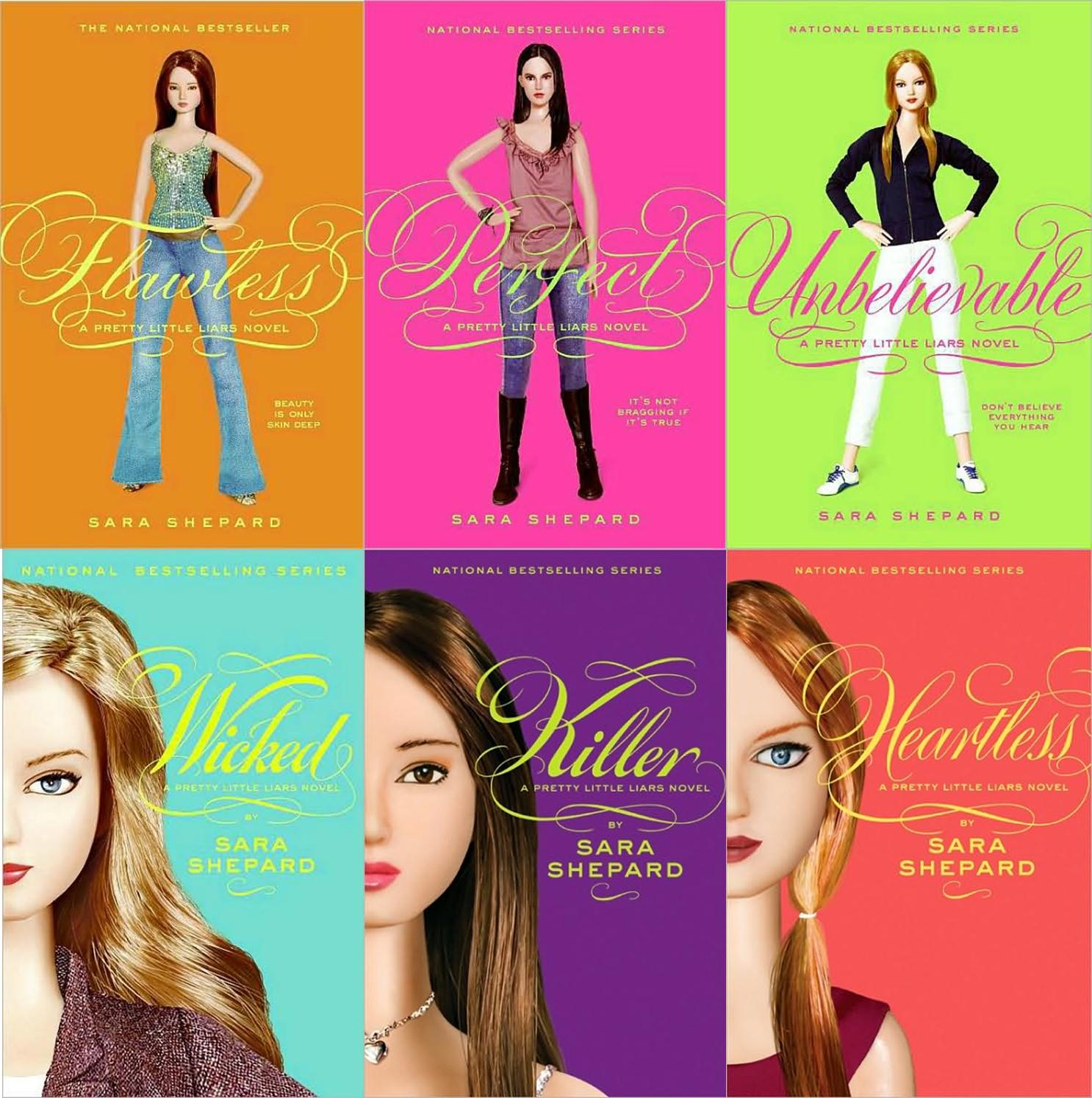 Pretty Little Liars First Book Cover ~ More new series fiction wcpl teen