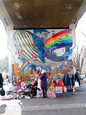 Graffiti in Tokyo, Japan