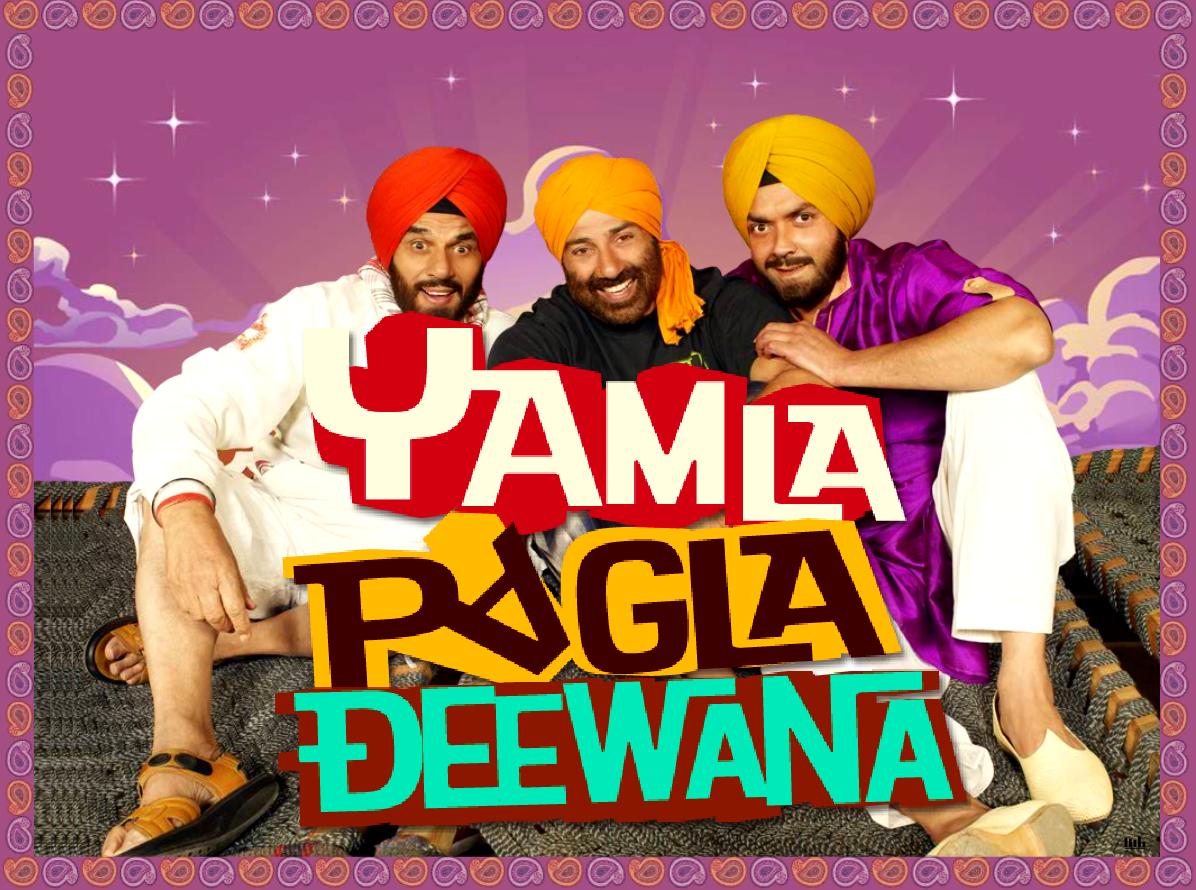 Yamla Pagla Deewana (2011) - Dharmendra, Sunny Deol, Bobby Deol, Kulraj Randhawa, Anupam Kher, Mukul Dev, Himanshu Mallik, Amit Mistry