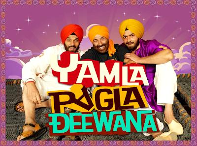 Yamla-Pagla-Deewana-audio-songs-photos-review