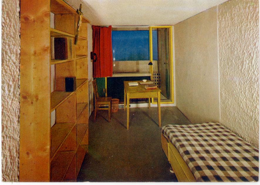 Architectures de cartes postales 1 le corbusier int rieur for Interieur d un couvent