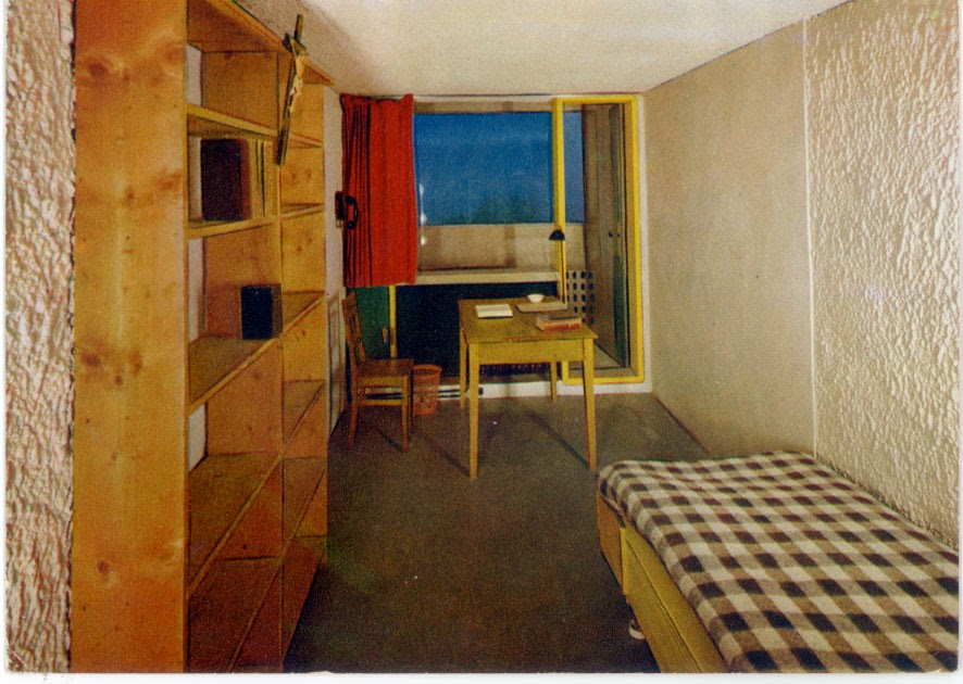 architectures de cartes postales 1 le corbusier int rieur. Black Bedroom Furniture Sets. Home Design Ideas