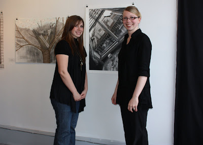 Nipissing Juried Exhibition - Malinda Prud'homme and Amanda Burke
