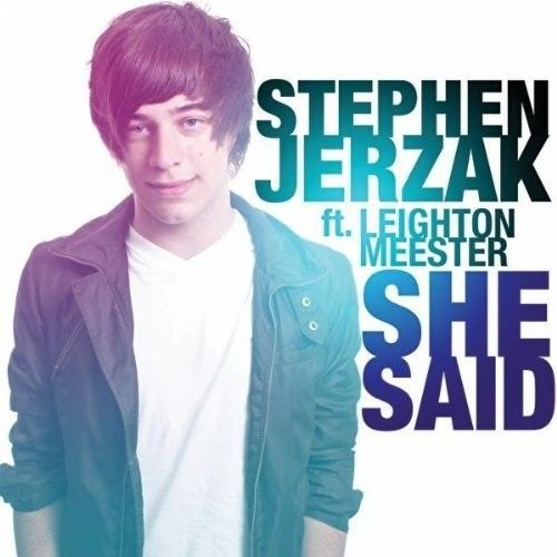 Artist: Stephen Jerzak Ft. Leighton Meester Title: She Said