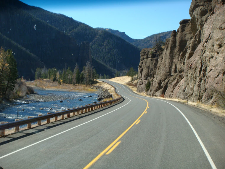 Traveling in Yellowstone National Park