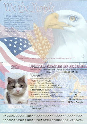 us passport template psd