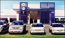 Callaremi Buick Pontiac, GMC and Cadillac on Route 46, Budd Lake New Jersey