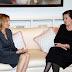 Συνάντηση Νατάσας Καραμανλή με την χήρα του Τάσου  Παπαδόπουλου στη Κύπρο