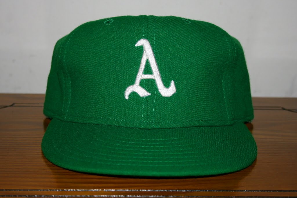 vintage oakland a's hat