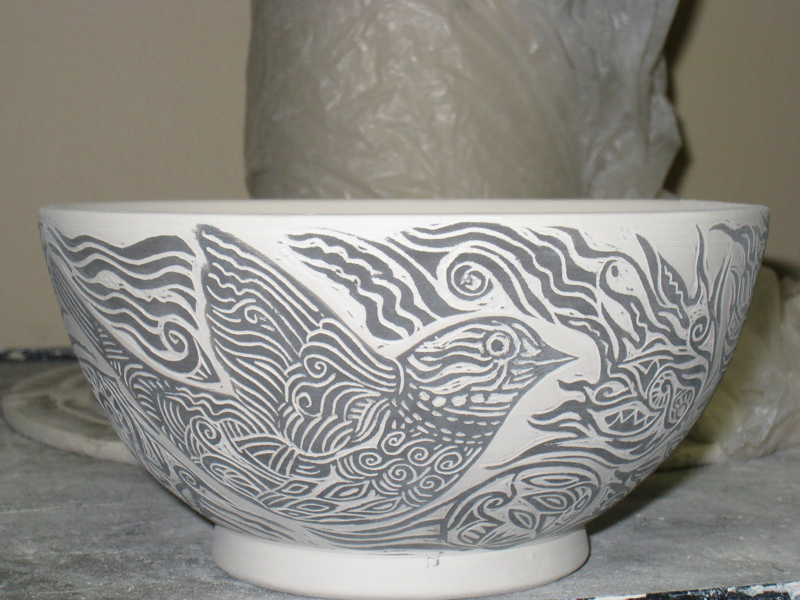Ceramic Cups Designs Carving Designs Into Cups
