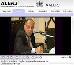 Dep Paulo Ramos discute projeto de Conselho de Comunicação na TV Alerj .