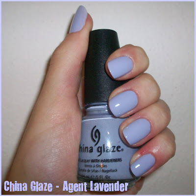 Swatch: China Glaze No.684 AGENT LAVENDER