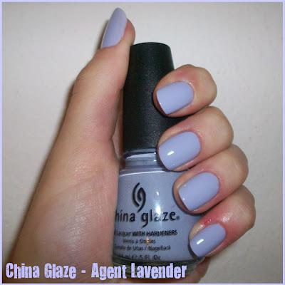 Swatch: China Glaze No.684 AGENT LAVENDER
