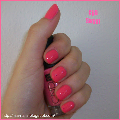 Swatch: CND No. 565 Sweet