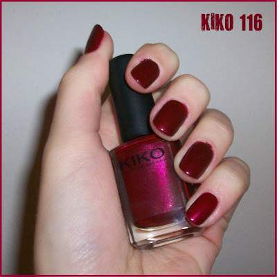 Swatch: KIKO No.116