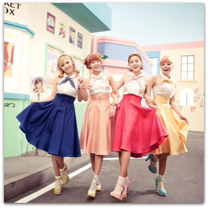 Secret is a four-member Korean girl group.