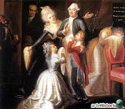 Rey Luis XVI y Maria Antonieta