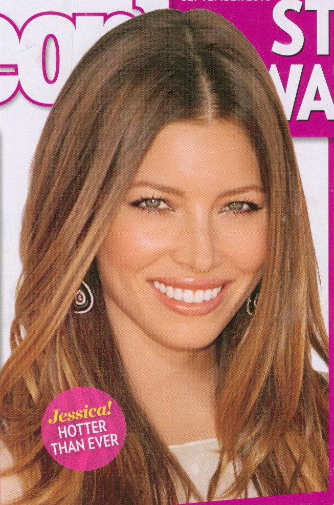 jessica biel hair color 2010. Hair Diaries: Jessica Biel