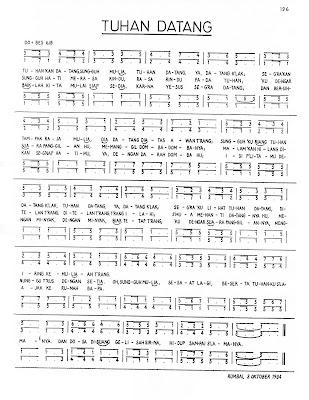 Lagu Rohani Lagu Paduan Suara Partitur Satb Lagu