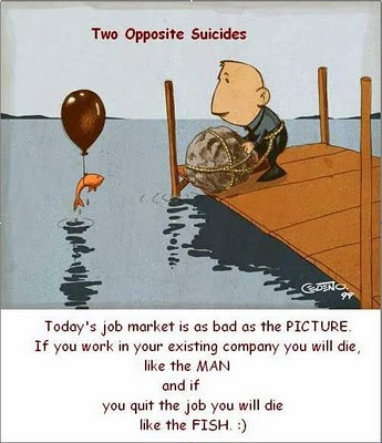 Opposite suicides, funny pic, suicide methods, pictures, fun, fish and the man