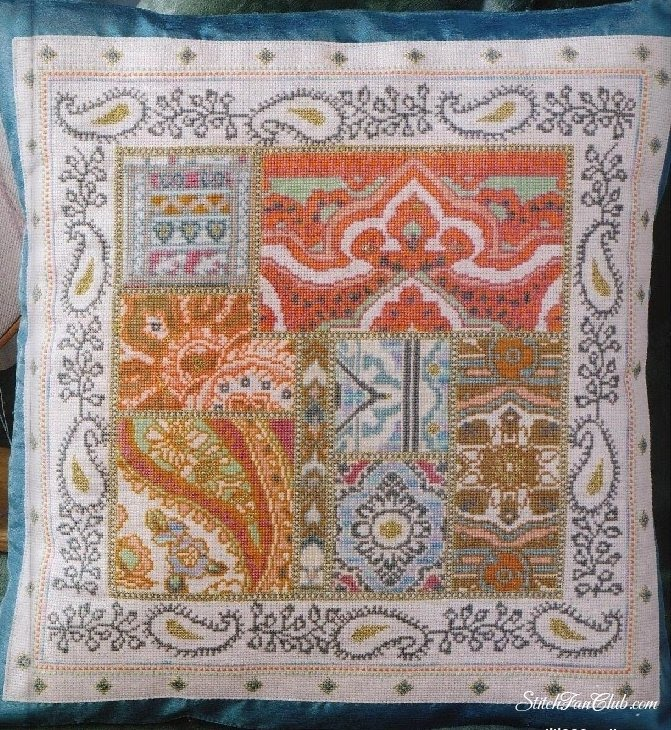 Арабские узоры вышивка крестом 21