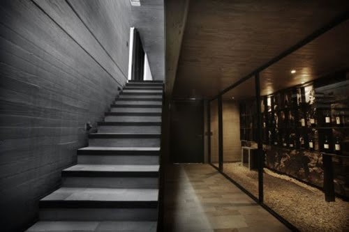 Modern Concrete Exterior Stairs
