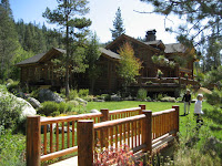 Outside view of Truckee River Luxury Real Estate
