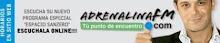 """Escucha """"Espacio Sanzero"""" por Adrenalina FM"""