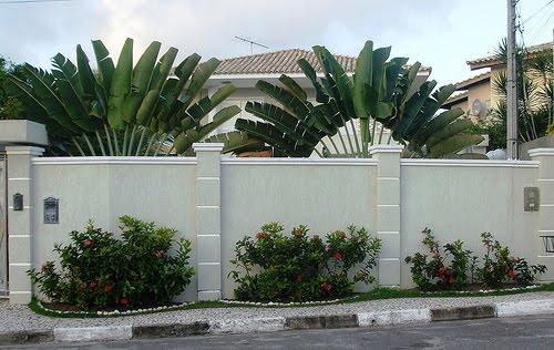 decoracao muros jardim:Muros-De-Casas-Modernas