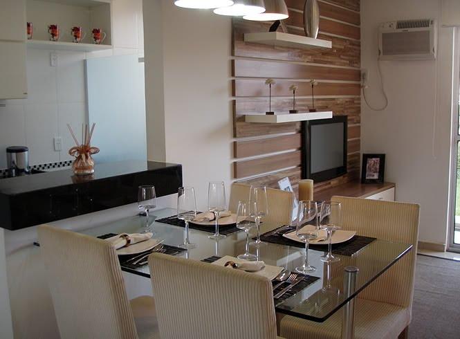 decoracao de apartamentos pequenos sala de jantar : decoracao de apartamentos pequenos sala de jantar:Cozinha Integra DA Com Sala De Jantar