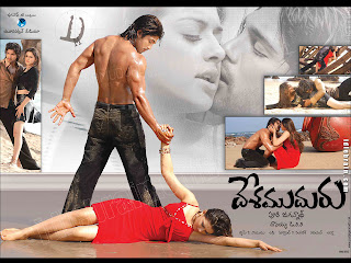 Desamuduru movie wallpaper/poster
