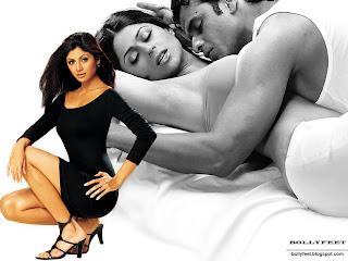 Shilpa Shetty Hot Romance Photos