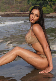 Hot Indian Model in SwimSuit for Calander Photo Shoot