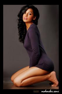 Model and bollywood actress Mugdha Godse